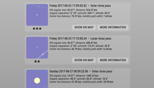 Window Y International Space Station Transit Finder 3