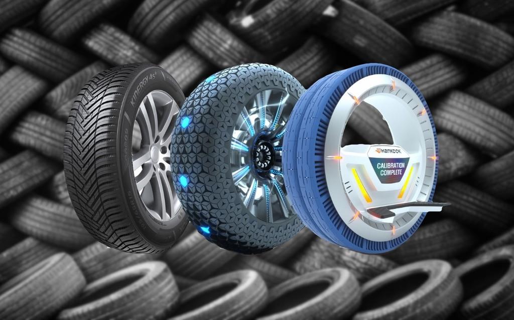 De metal, sin aire o esféricos: ocho prototipos de neumáticos que prometen solucionar los pinchazos en los coches del futuro