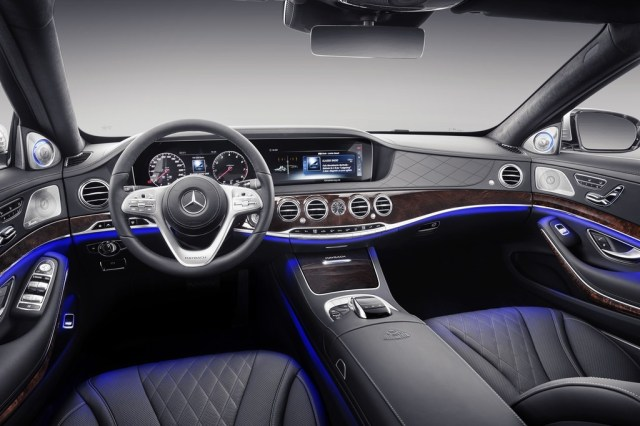 Mercedes Maybach S 2018 5