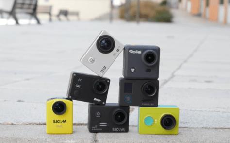 Selección cámaras de acción
