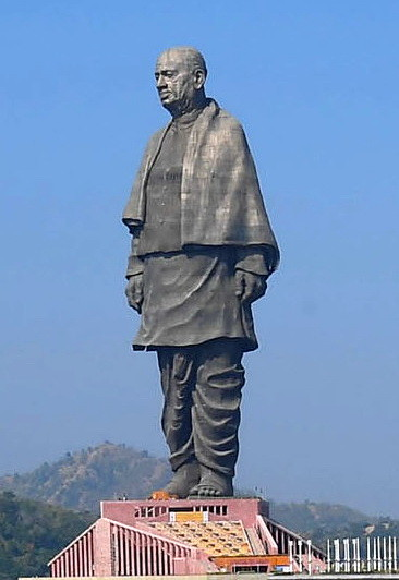 Statue Of Unity As Dedicated On October 31 2018 Cropped