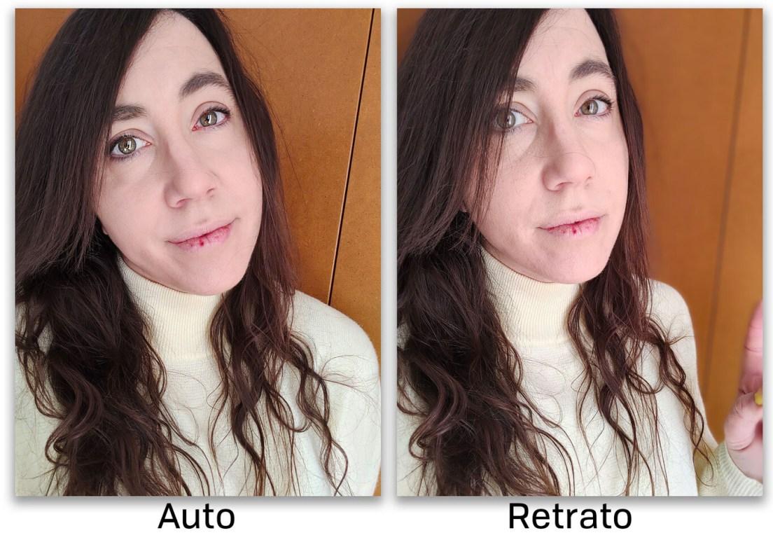 Realme 8 Pro Auto Retrato Frontal 01