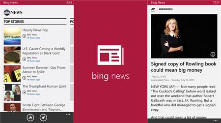Microsoft lanza Bing Apps para Windows Phone 8: noticias ...