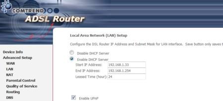Direccion Ip Router 2