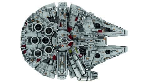 Millennium Falcon Lego 5