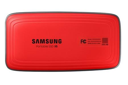Portable Ssd X5 Back