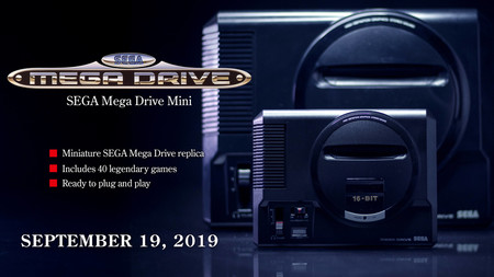 SEGA Mega Drive Mini, everything that is known about the mythical retro console that will return this September with 40 classic games