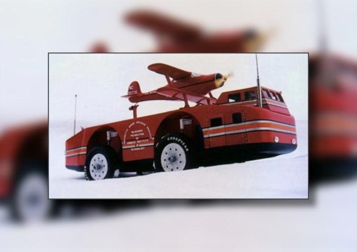 El vehículo de 37 toneladas diseñado para explorar la Antártida que ni exploró ni se sabe dónde acabó perdido en el Polo Sur
