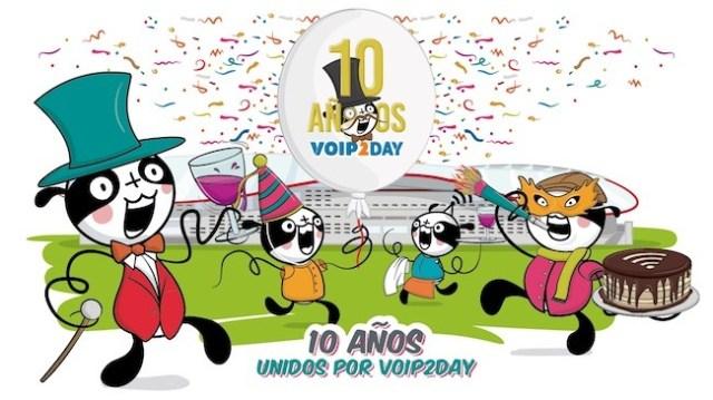 voip2day celebra su 10.º aniversario en un nuevo escenario, el Wanda Metropolitano