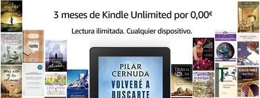Kindle Unlimited de Amazon gratis durante 3 meses: acceso ilimitado, desde cualquier dispositivo, a más de 1 millón de libros