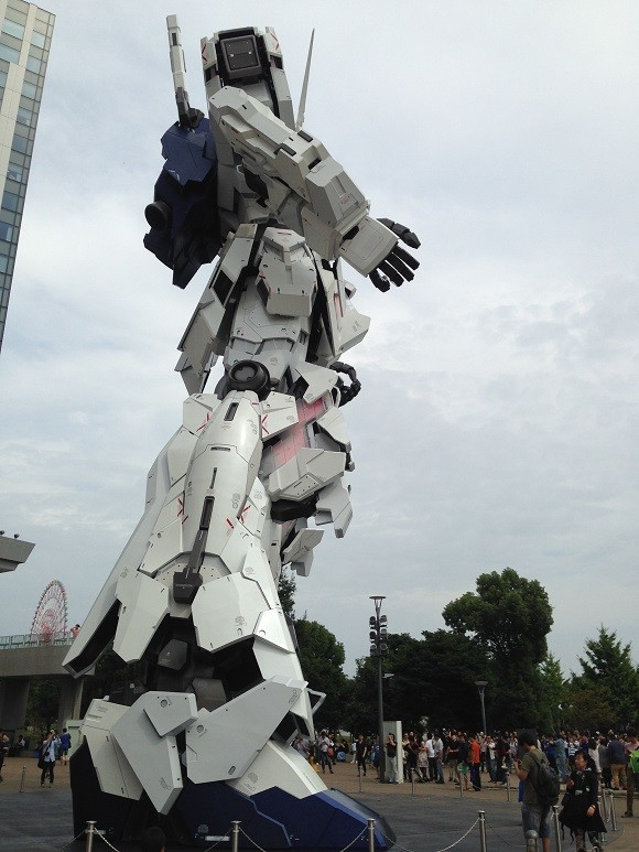 Unicorn Gundam Japon 14