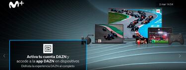 Cómo habilitar la cuenta DAZN gratuita para clientes de Movistar