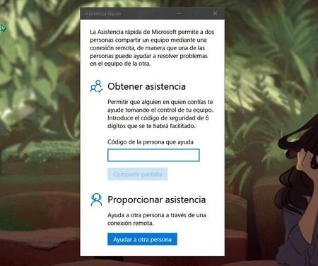 Windows 10 Asistencia Rapida