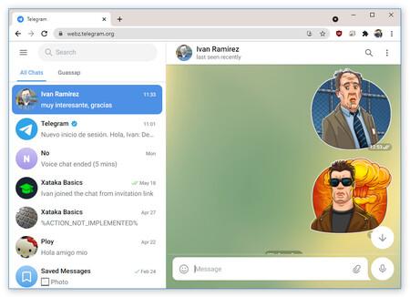 Telegramwebb