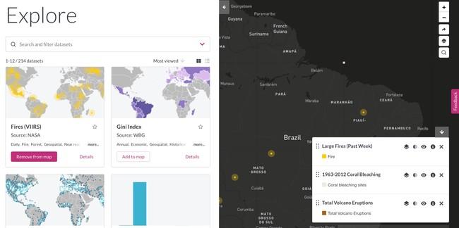 Window Y Explore Data Sets Resource Watch Resource Watch
