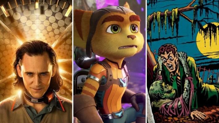 13 estrenos y lanzamientos imprescindibles para el fin de semana: 'Loki', 'Ratchet & Clank', Masters del Universo y mucho más