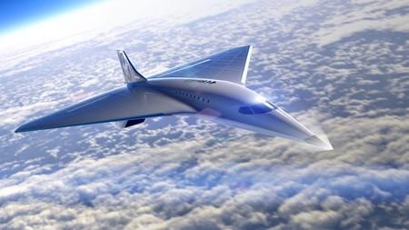 Avion Virgin Galactic Mach 3