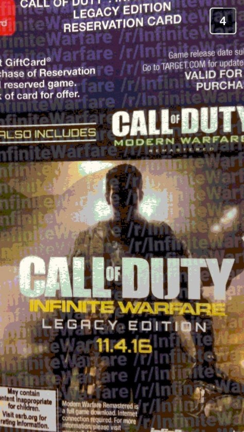 Call Of Duty Infinite Warfare Portada Filtracion