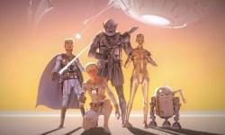 Este tráiler nos muestra como luciría 'Star Wars' si se hubiese respetado el arte conceptual original de 1975