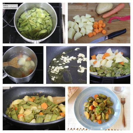 Sautéed Green Beans Potato Paprika Pakus Futurobloguero Dap