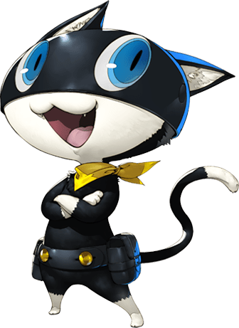 P5 Morgana Character Artwork
