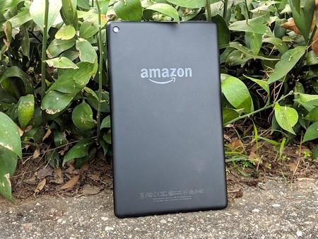 Amazon Fire Hd ocho Trasera