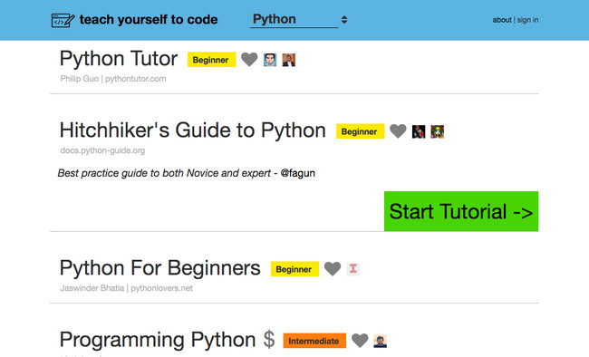 Teach Yourself To Code