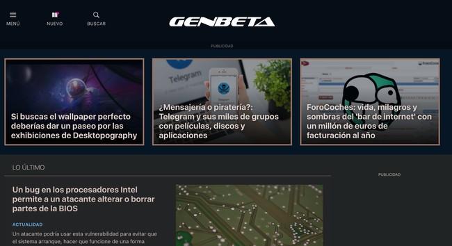 Window Y Genbeta Software Descargas Aplicaciones Web Y Movil Desarrollo