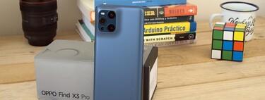 Oppo Find X3 Pro, análisis: el asalto a la gama premium pasa por su pantalla y diseño, no por la cámara microscópica