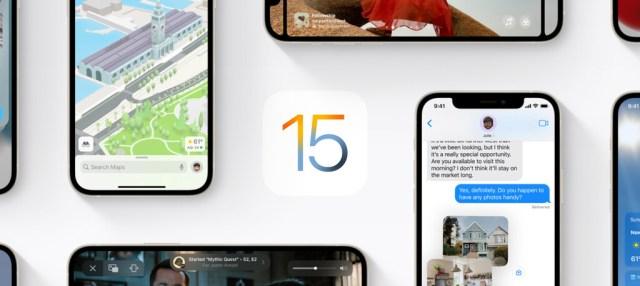 iOS 15: cómo actualizar y prototipos de <stro data-recalc-dims=