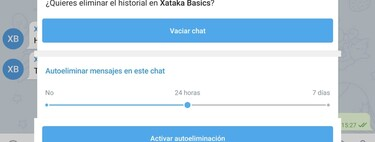 Temporary messages in Telegram: how to make them self-destruct without using secret chats