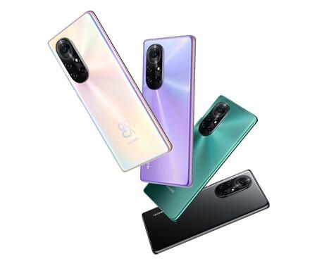 Huawei Nova 8 Pro Diseno