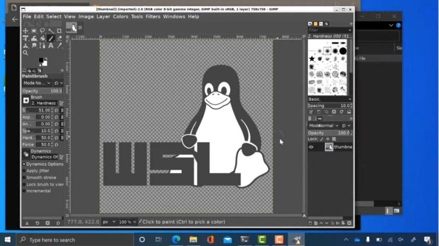 Microsoft enseña cómo será la ejecución de aplicaciones complejas de Linux en Windows 10: la integración es cada vez mejor