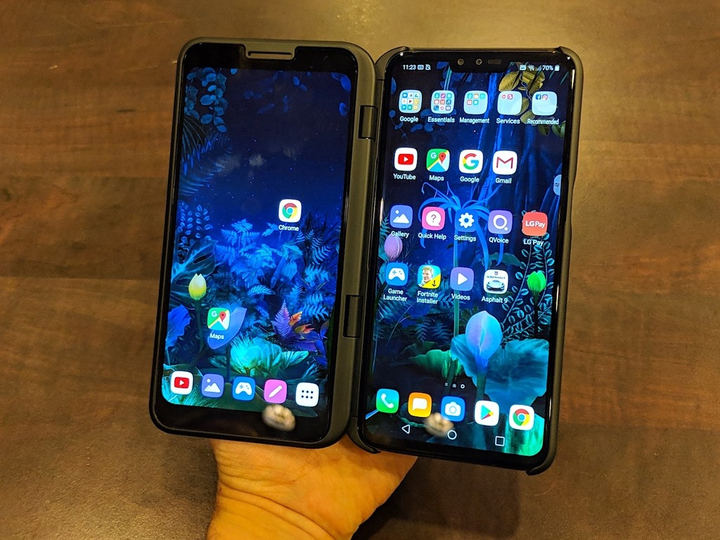 Permalink to LG V50 ThinQ 5G, primeras impresiones: en este estado la doble pantalla lo tiene difícil para luchar contra los móviles flexibles