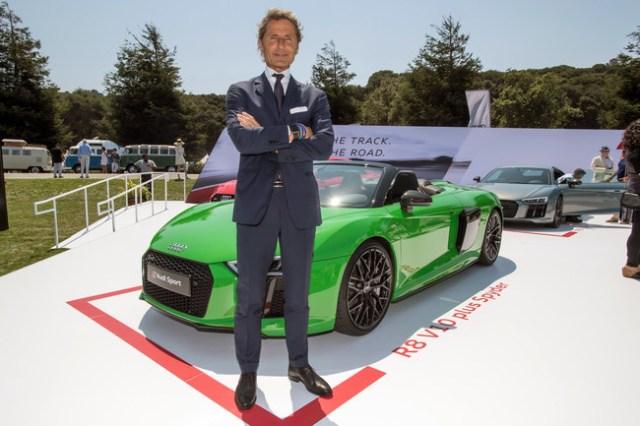 El hiperdeportivo de Audi es entredicho de tiempo, segun Winkelmann