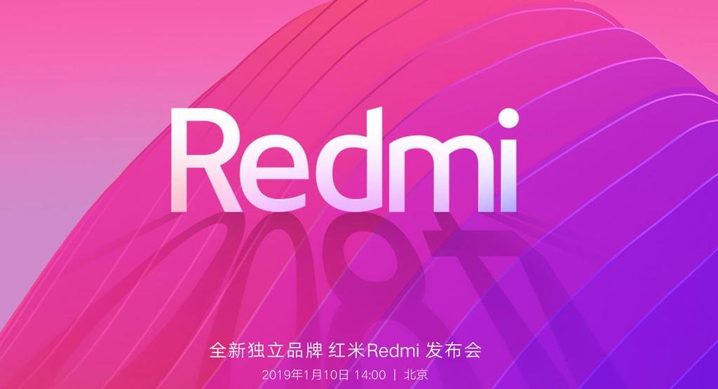 Redmi será marca independiente de Xiaomi, y debutará con un móvil de 48 Mpíxeles el 10 de enero