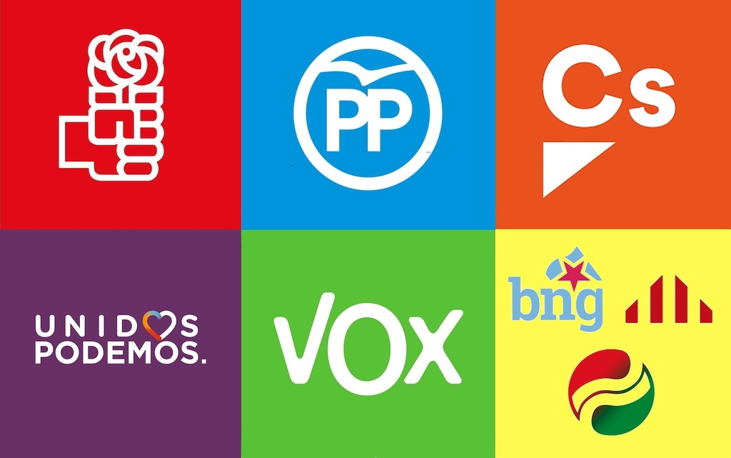 Qué cuentan los aplicaciones de PSOE, PP, Podemos, Ciudadanos y Vox sobre propiedad intelectual e Internet