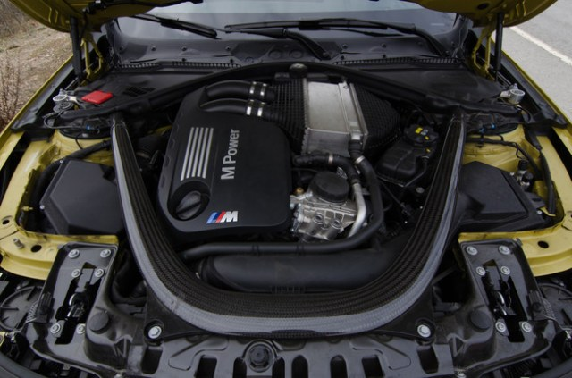 Motor BMW M4. Foto Chema Sanmoran