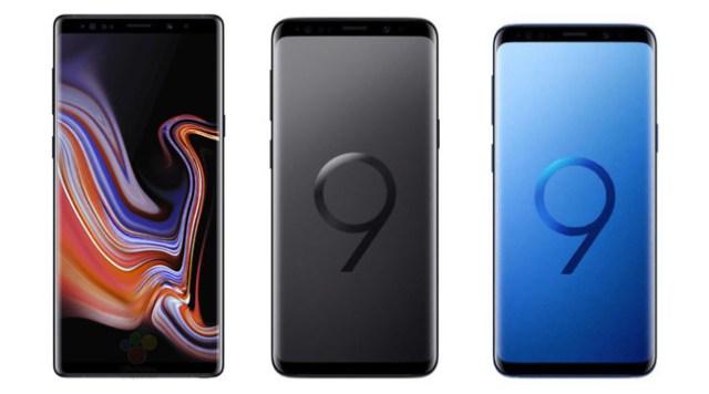 Note 9(nueve) Vs S9 Plus Vs S9