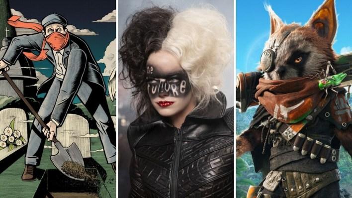 13 estrenos y lanzamientos imprescindibles para el fin de semana: 'Cruella', 'Logan', 'Biomutant', 'Kamen Rider' y mucho más