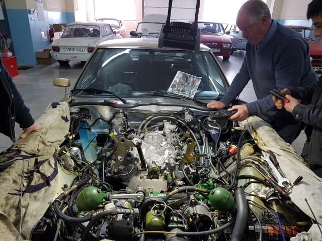 Motor Citroen Sm