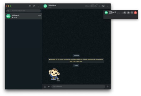 Facebook is testing WhatsApp voice and video calls on its Mac client