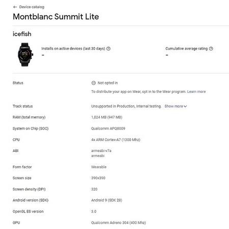 Montblanc Summit Lite