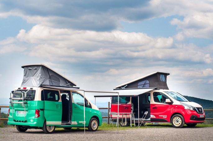 Foto de Nissan NV200 y NV300 camper (7/8)