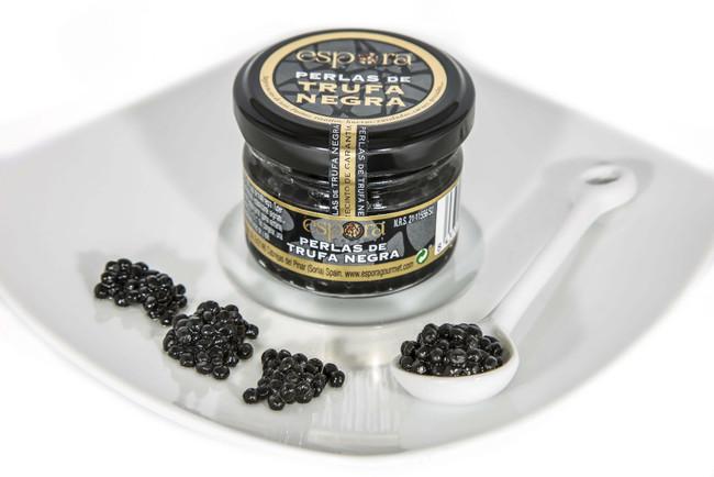 Perlas de trufa negra