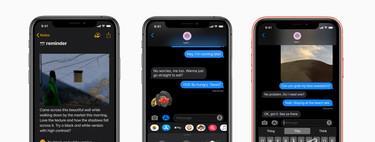 iOS 13 ya está aquí: todas las novedades del sistema operativo para iPhone y iPad