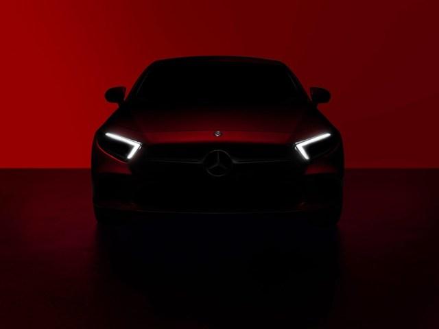 Mercedes Benz Cls 2018 Teaser 1