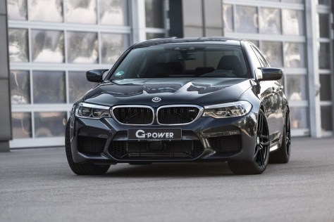 G-Power exprime el 4.4 litros V8 biturbo del BMW M5... ¡hasta los 800 CV y 980 Nm!