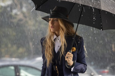 Blake Lively Masculine Look