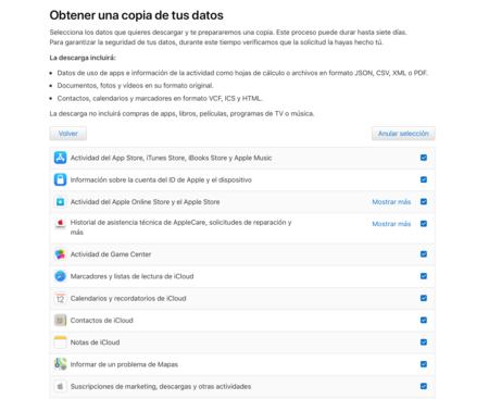 Apple Privacidad Datos
